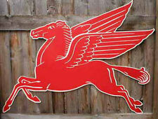 Mobil Flying Red Horse Sign Large 42 Inch