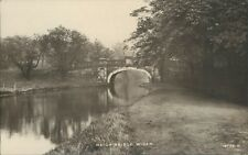 Real photo; Haigh bridge wigan; James starr & sons 1920