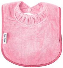 Infant baby Bibs Silly Billyz Premium Towel Bib Pale Pink Child Feeding Accessor