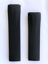 Original Tissot Veloci-T Black Rubber Band Strap for Back-Case # T024417A