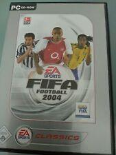 PC Game Spiel FIFA Football 2004 EA Sports Fussball