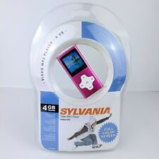 Sylvania 4 GB Video MP3 Player SMPK4083 Pink Portable Media Player Voice Record
