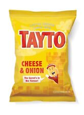 Tayto Cheese & Onion Crisps 20 packets of 25g