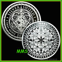 2021 1oz Flower Eternal Proof Silver Shield MiniMintage Sacred Geometry PRESALE*