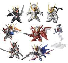 [bandai] Mobile Suit Gundam Capsule Toys Gashapon Warrior Next17 8 Pics Set