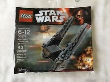 LEGO STAR WARS 30279 KYLO REN'S COMMAND SHUTTLE. NEW. SEALED. PRIVATE COLLECTION