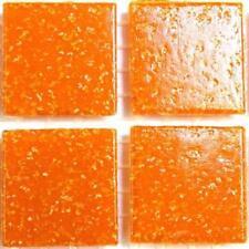 Vitreous Glass Mosaic Tiles 20mm - Mandarin
