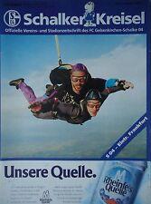 Programm 1995/96 FC Schalke 04 - Eintracht Frankfurt