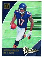 2018 Donruss THE ROOKIES #R-14 ANTHONY MILLER RC Rookie Chicago Bears