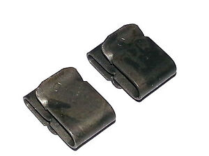 Mopar Chrysler Plymouth Dodge Radiator Grille Baffle Retainer Clamp Clips 2pc LV