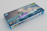 Trumpeter 1/350 Italian Heavy Cruiser Fiume plastic model *New release* 05348