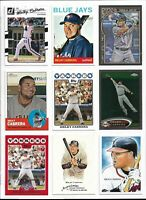 MELKY CABRERA (NEW YORK YANKEES) - 80 BASEBALL CARD LOT W/INSERT/PARALLELS