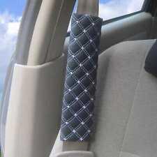 1 Paar Auto-Sicherheits-Sicherheitsgurt Schulterpolster Abdeckung / Harness Pad