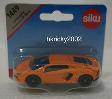 Siku Super 1449 Lamborghini Aventador LP 700-4 Orange Sports Car Model