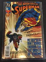 Adventures Of Superman #506 Signed By Artists DC Comics Combine Shipping