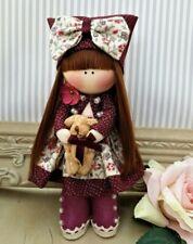 Rag doll handmade in the UK Tilda doll Ooak doll Cloth doll Mary 6 inch tall