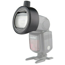 Godox S-R1 Round Head Accessories Adapter For Camera Flash V860Ii Tt685 Tt600