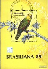 Nicaragua block184 (complete issue) used 1989 Birds