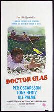 CINEMA-locandina DOCTOR GLASS oscarsson,hertz,palme,ZETTERLING