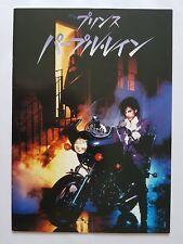 "PRINCE ""PURPLE RAIN"" RARE JAPAN FILM Program"
