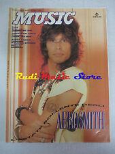 Rivista MUSIC 127-128/1990 Aerosmith Kiss Rolling Stones Prince John Taylor NOcd