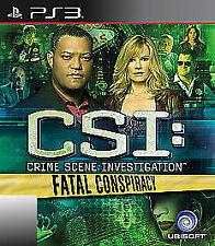 CSI: Crime Scene Investigation: Fatal Conspiracy (Sony PlayStation 3, 2010)