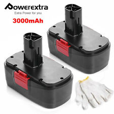 2 Pack 3.0AH 19.2 Volt Battery for Craftsman C3 11375 130279005 Cordless Drill