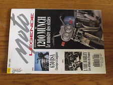10µ Revue Moto Legende n°25 1200 Munch 650 BSA Combalbert New Map 350 650 BSA