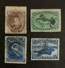 Newfoundland Stamps #37-40 Used