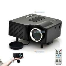 HD 1080P LED Multimedia Projector Home Theater Cinema AV TV VGA HDMI USB SD FT