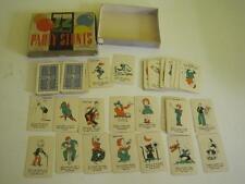 Vintage 72 Party Stunts Whitman Card Game Depression Era 1935 Americana 70 CARDS