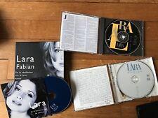 De La Revelation ... A La Consecration de Lara Fabian   2 CD Et 1 Single