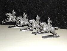 GREINER ? Zinnfiguren Frankreich Kürassiere Napoleon Linien Kavallerie 4 Stück