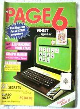 63162 Issue 32 Page 6 Atari Users  Magazine 1988