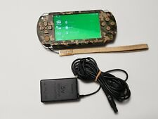 PSP-1000 console camouflage Metal Gear Solid Limited PlayStation Portable system
