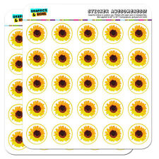 Sunflowers RA Lang Sheet of Vintage Stickers Mint Condition!!