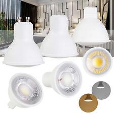 GU10 LED Bulbs COB Spotlight MR16 GU5.3 5W 7W Ultra Bright Lamp 110V 220V DC 12V