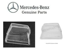 Mercedes r129 (96-01 X-amg) Fog Light Lens L+R (x2) OEM Driving Lamp Glass Cover