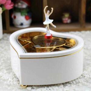 Music Box For Girls Dancing Ballerina Jewelry Accessories Storage Boxes Elegant