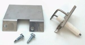 01683 - Ceramic Gas Grill Electrode with Mounting Bracket for Tuscany
