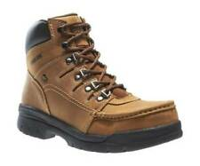 "Wolverine Potomac 6"" Leather Work Boot Steel Toe Brown W04349 For Men"