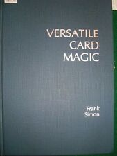 Versatile Card Magic - Frank Simon