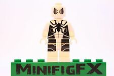 Lego FUTURE FOUNDATION SPIDER-MAN Custom Printed Minifig Marvel Superhero