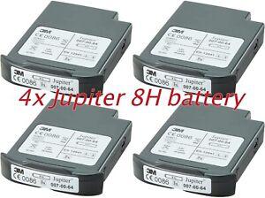 3M Jupiter Battery 4x  Lithium Li-ion - 8hr - 007-00-64P , Brand NEW