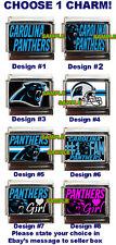 Carolina Panthers Custom Italian Charm NFL best! choose!