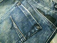 *HOT AUTHENTIC Men's DIESEL @ DARRON 8M9 Slim TAPERED DARK STRETCH Jeans 30 x 30