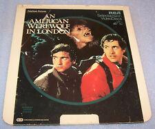 Vintage 1982 An American Werewolf in London CED RCA Selectavison VideoDisc Movie