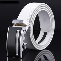 """Cow Leather Belt For Men Automatic Belt Buckles Mens Designer Fashion Belt 48"""""""