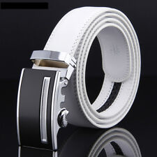 Cow Leather Belt For Men Automatic Belt Buckles Mens Designer Fashion Belt 48""