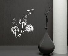 Dandelion Vinyl Decal Bedroom Decoration Flower Wall Stickers Mural (ig3358)